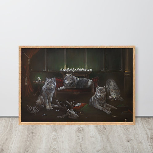 Domesticated | Framed print