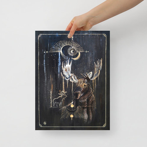 Moose aura PRINT