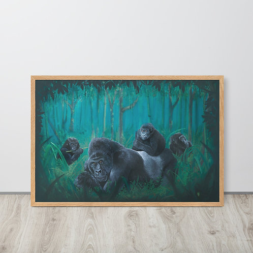 Bwindi impenetrable forest | Framed print