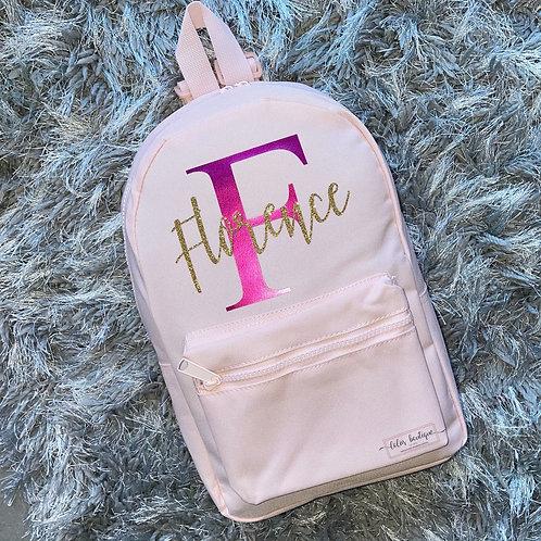 Name & Initial Backpack