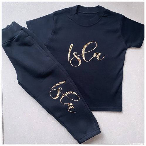 Personalised T-Shirt & Jogger Set