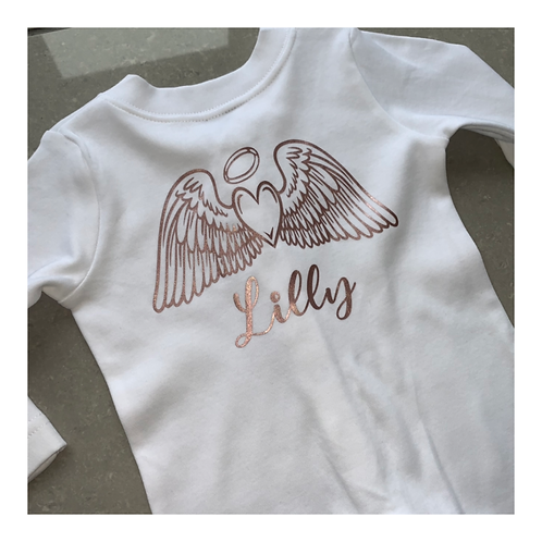 Angel Wings Baby Grow