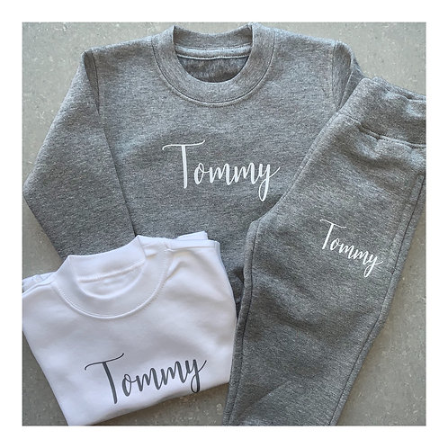 Personalised Sweater Tracksuit sets