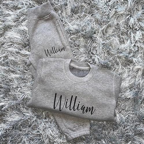 Sweater Tracksuit Set