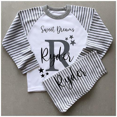 Personalised Sweet Dreams Pyjamas