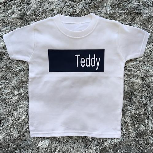 Name Bar T-Shirt