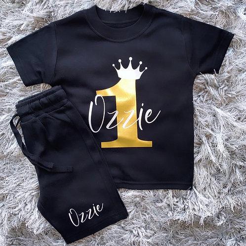 Birthday Short & T-Shirt Set