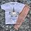 Thumbnail: Dusty Pink Unicorn T-Shirt & Legging Set