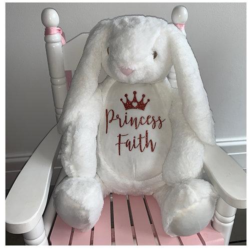 Personalised Bunny Teddy