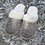 Thumbnail: Personalised Silver Leopard Slippers