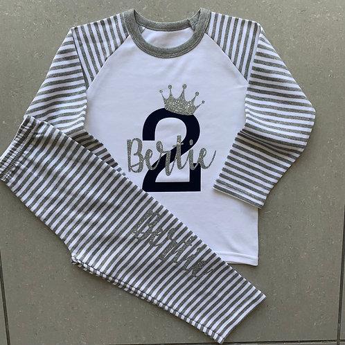 Birthday Number Pyjamas