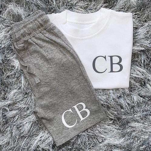 Initials Short & T-Shirt Set