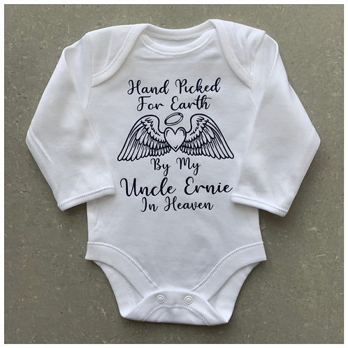 Hand Picked For Earth Baby Vest