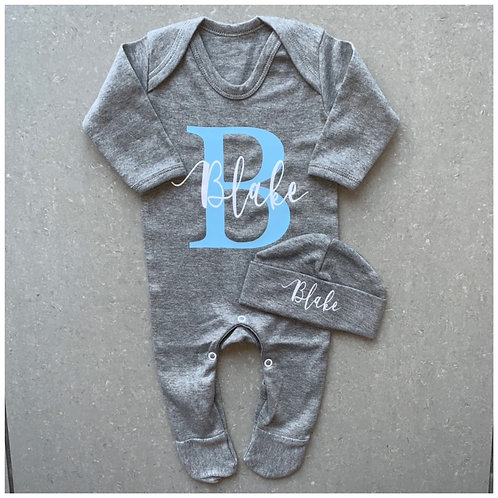 Name & Initial Baby Grow