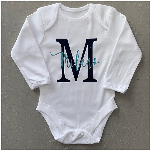 Name & Initial Baby Vest