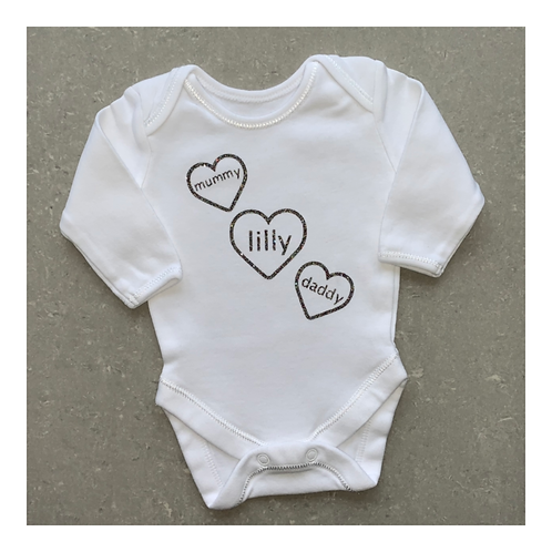 Family Hearts Vest