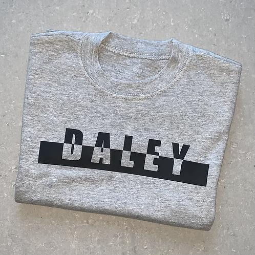 Split Name Bar T-Shirt