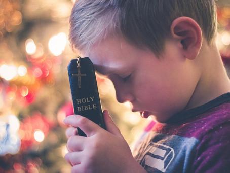 Ensinando nossos filhos o poder da oração