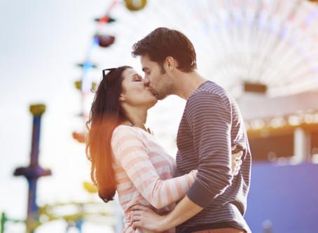 Dia dos namorados: O desafio do beijo