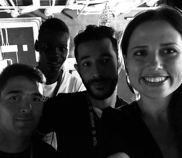 Journée QVC - Hooman, Meysar, Mohammad, et Chloé