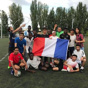 Coupe du Monde 2018 - soutien aux bleus avant la finale