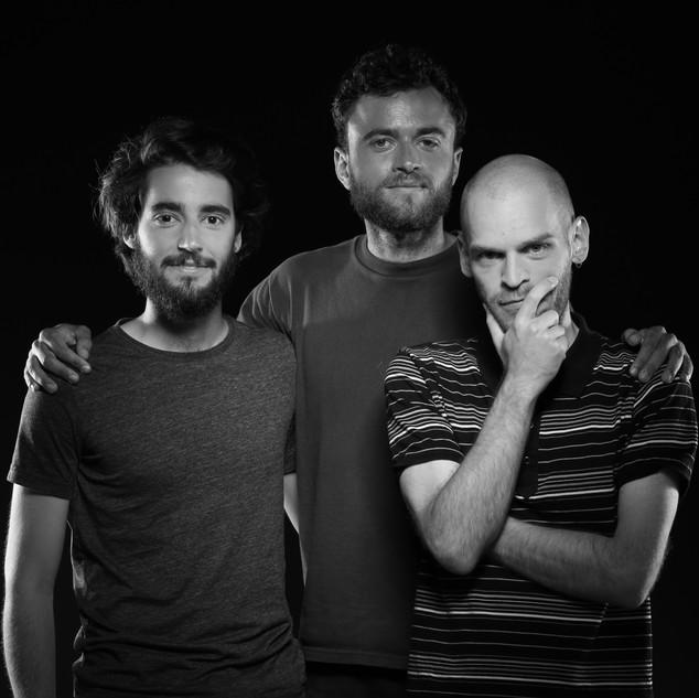 Les entraineurs: Florent, Cian et Julien