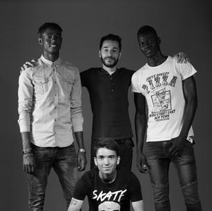 Rashid, Mohammad, Meysar et Hooman