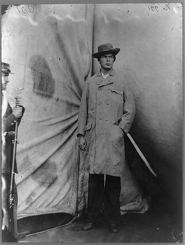 Lewis Powell, photographed after being captured