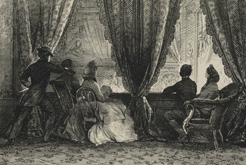 Depiction of Abraham Lincoln's Assassination