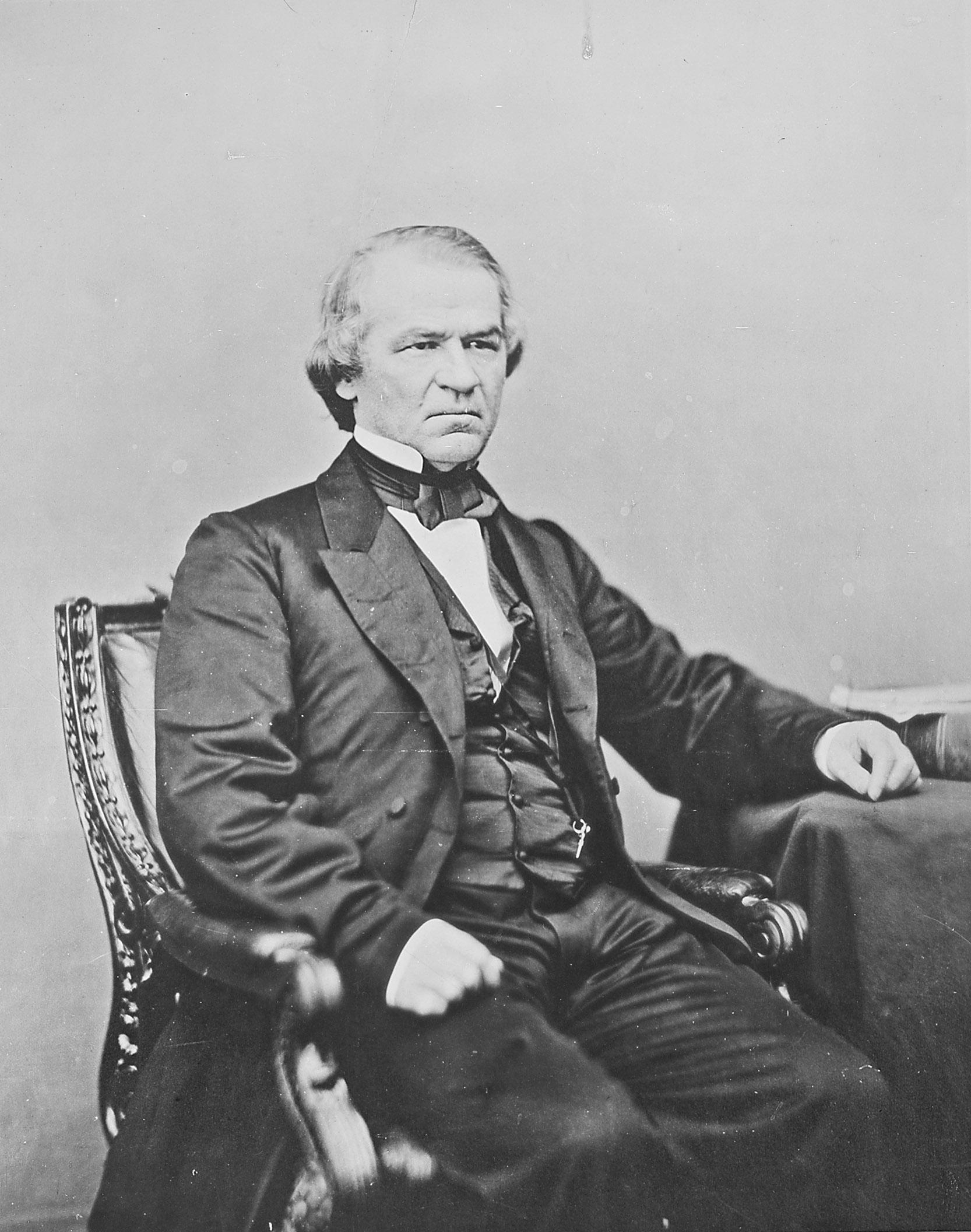 VP Andrew Johnson