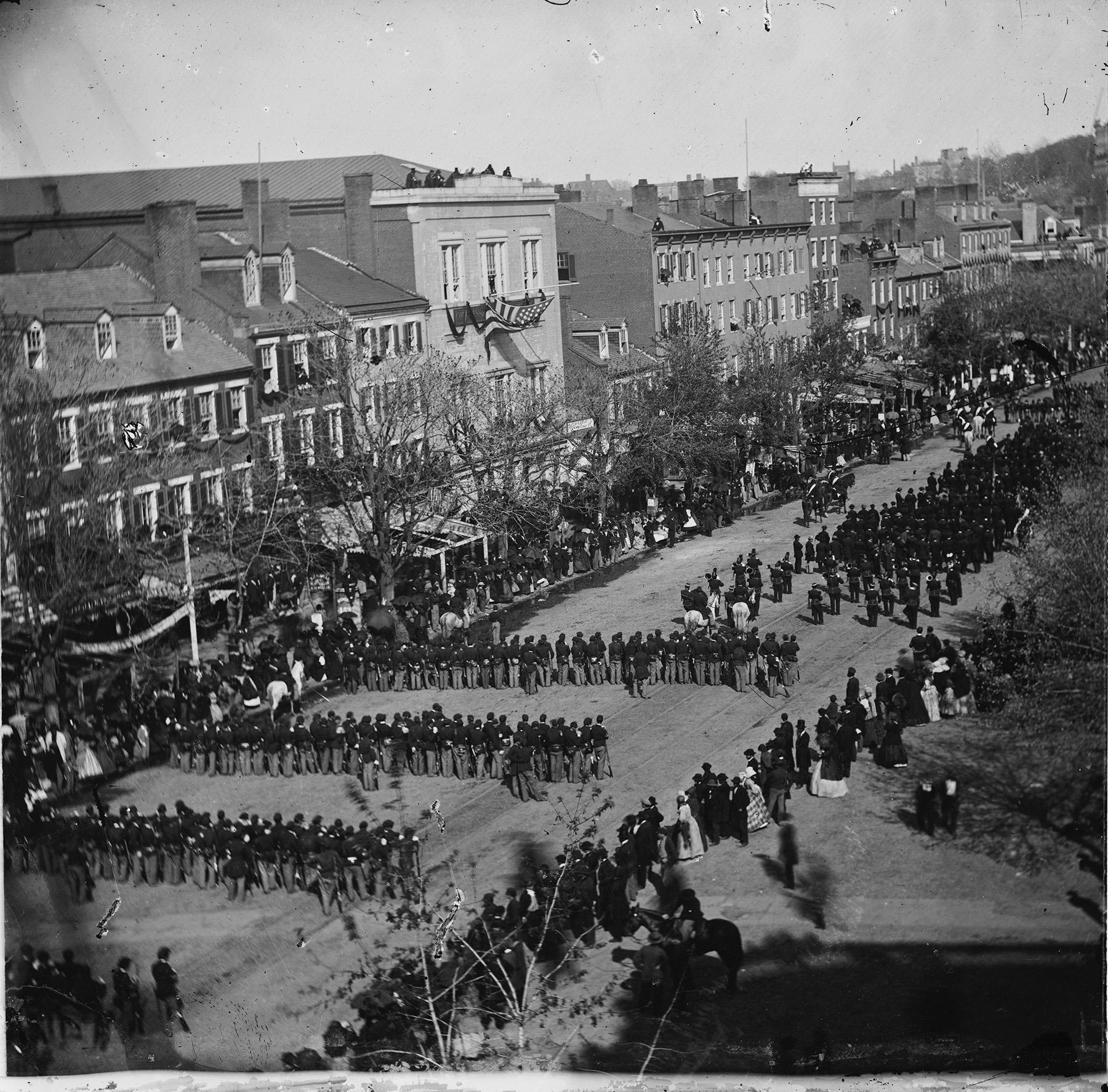 Lincoln's Funeral Procession