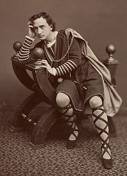 Edwin Booth. John Wilkes Booth's brother
