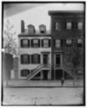 The Surrratt Boarding House in Washington, D.C. on H Street