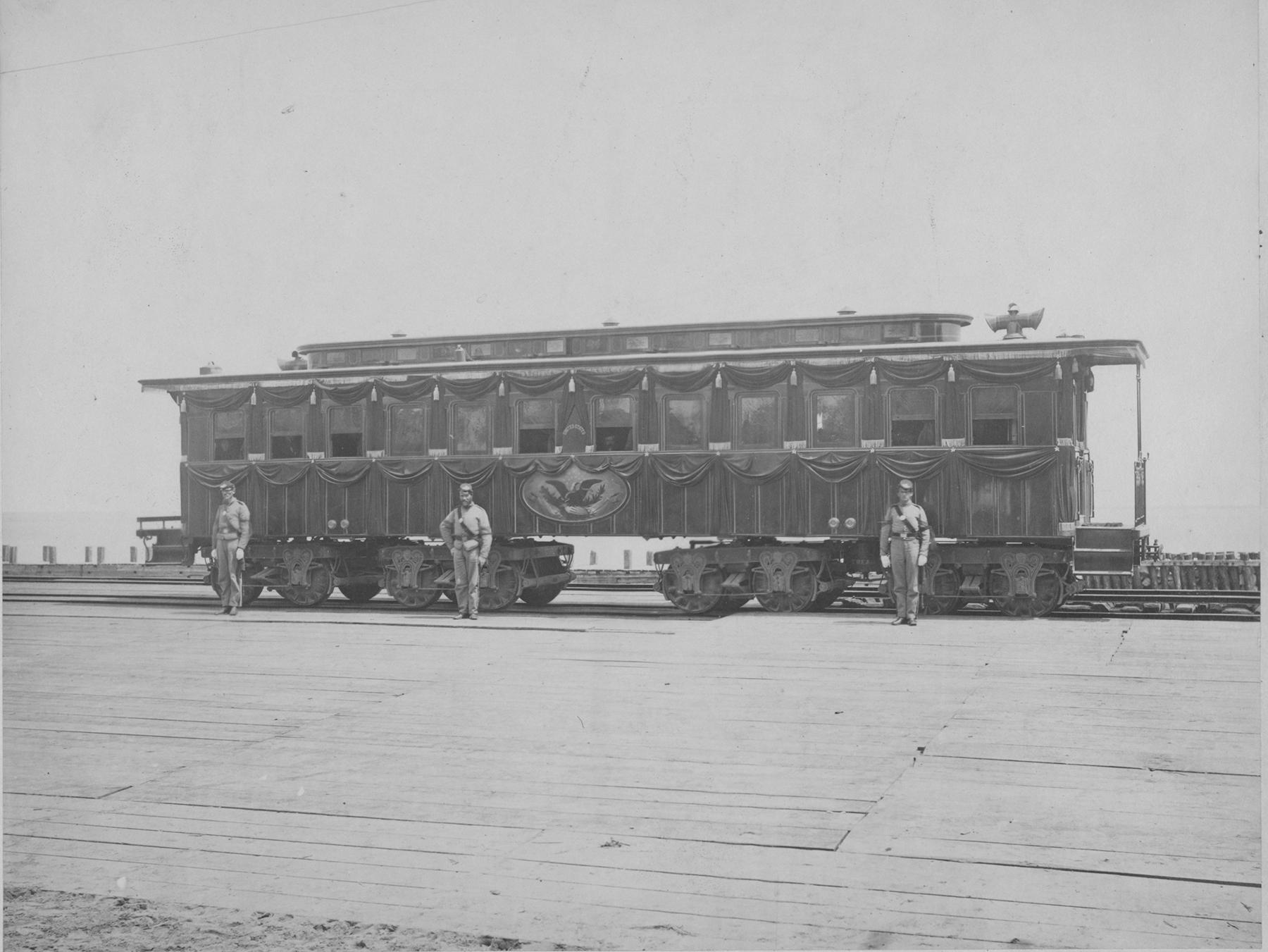 Lincoln's Funeral Train Car