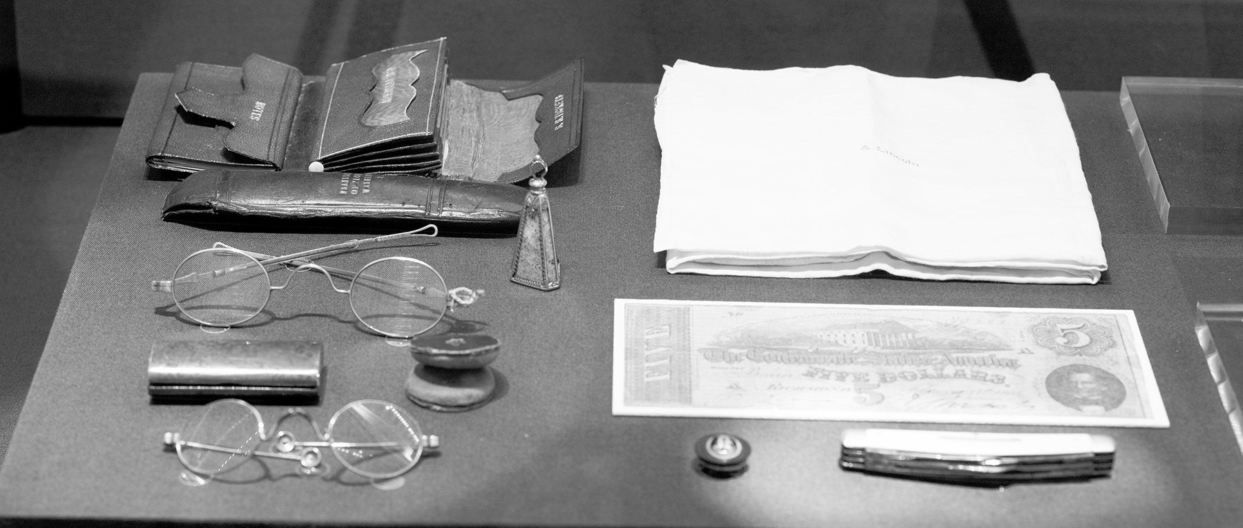 Contents of Lincolns Pockets
