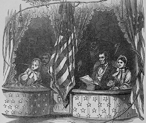 Illustration of the Assassination of Abraham Lincoln