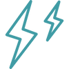 two-lightning-bolts-outlined-symbol-of-w
