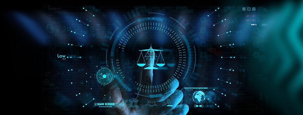 Balança do direito digital