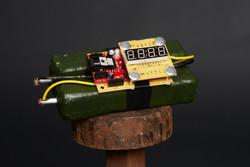 Bombe avec détonateur modèle C
