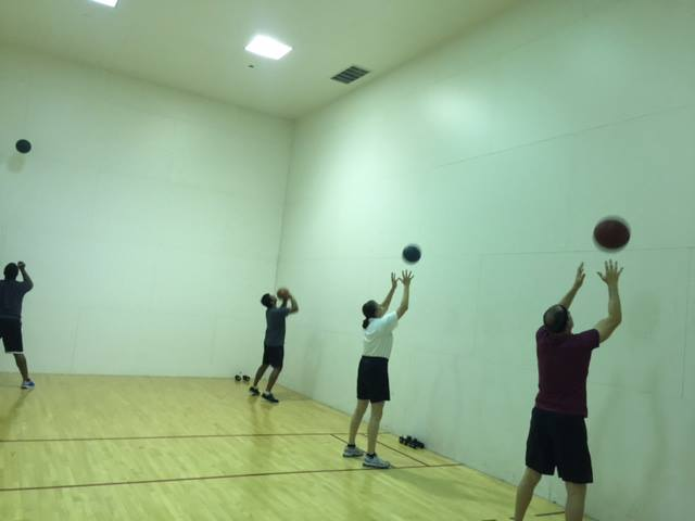 Wall Ball Time