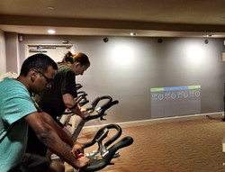 Spin and heart rate