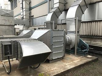 ゼオガイア脱臭装置 2ユニット.JPG