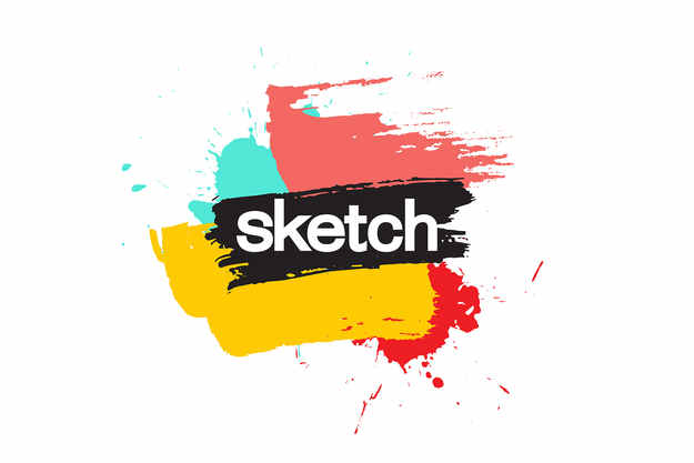 sketch logo, client of ben hemmings media