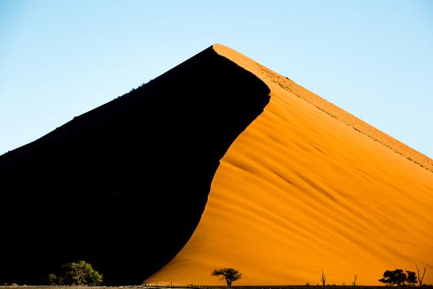 Dune 45 in Namibia i the Namib Desert