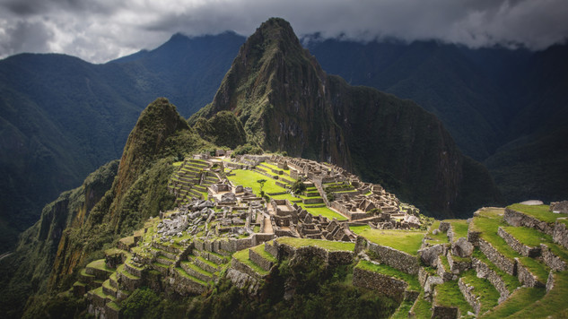 A portfolio image of Machu Picchu by Toronto based commercial photographer BEN HEMMINGS MEDIA