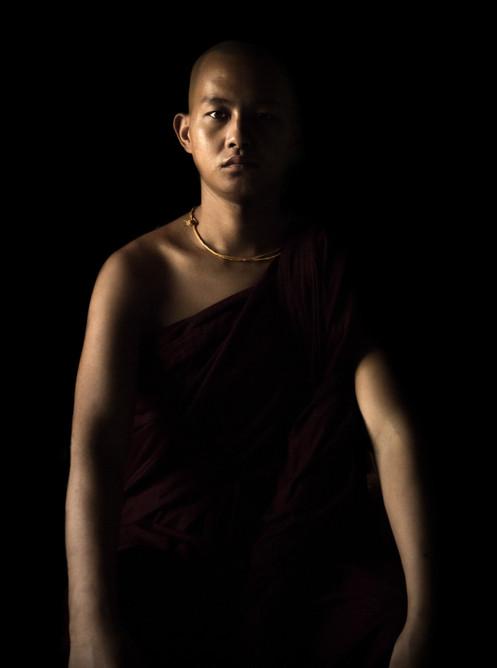 buddhist monk portrait ben hemmings media