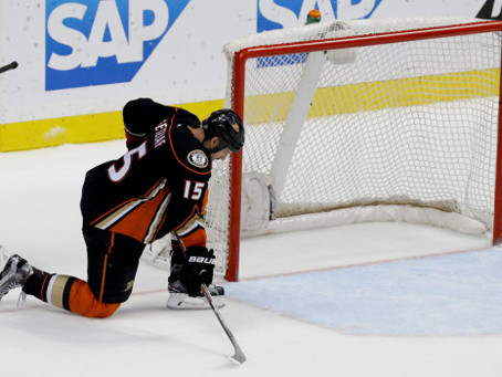 Anaheim Ducks Choke Again! (Originally posted May 31st, 2015)