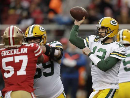 49ers-Packers Week 9 Preview
