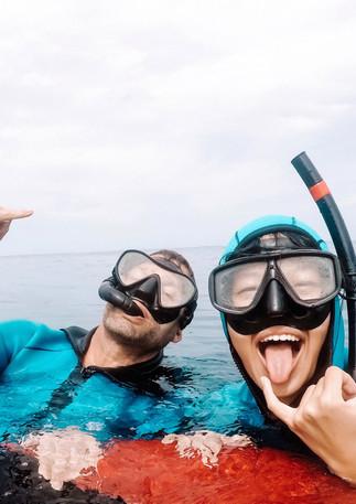 Freedivers are rockin' it