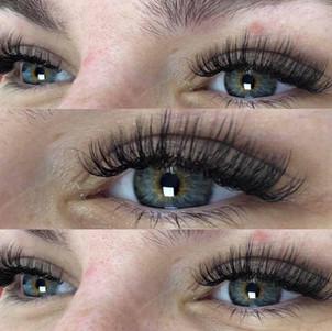 Hybrid lash extensions